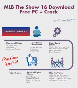 MLB The Show 16 pc version