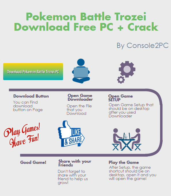 Pokemon Battle Trozei pc version