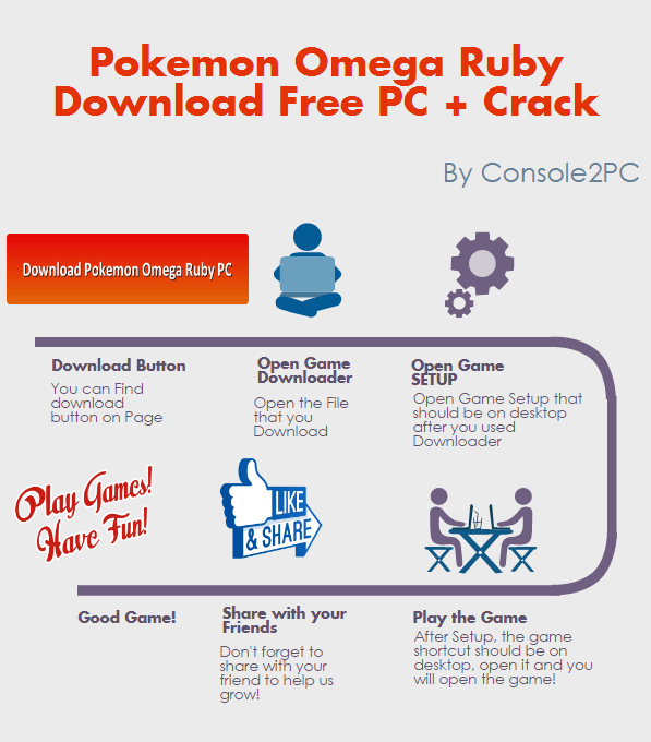 Pokemon Omega Ruby pc version