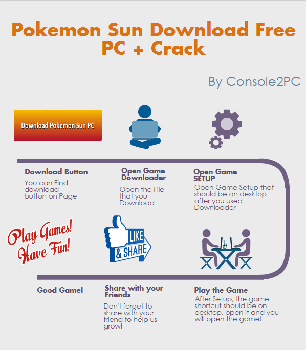 Pokemon Sun pc version