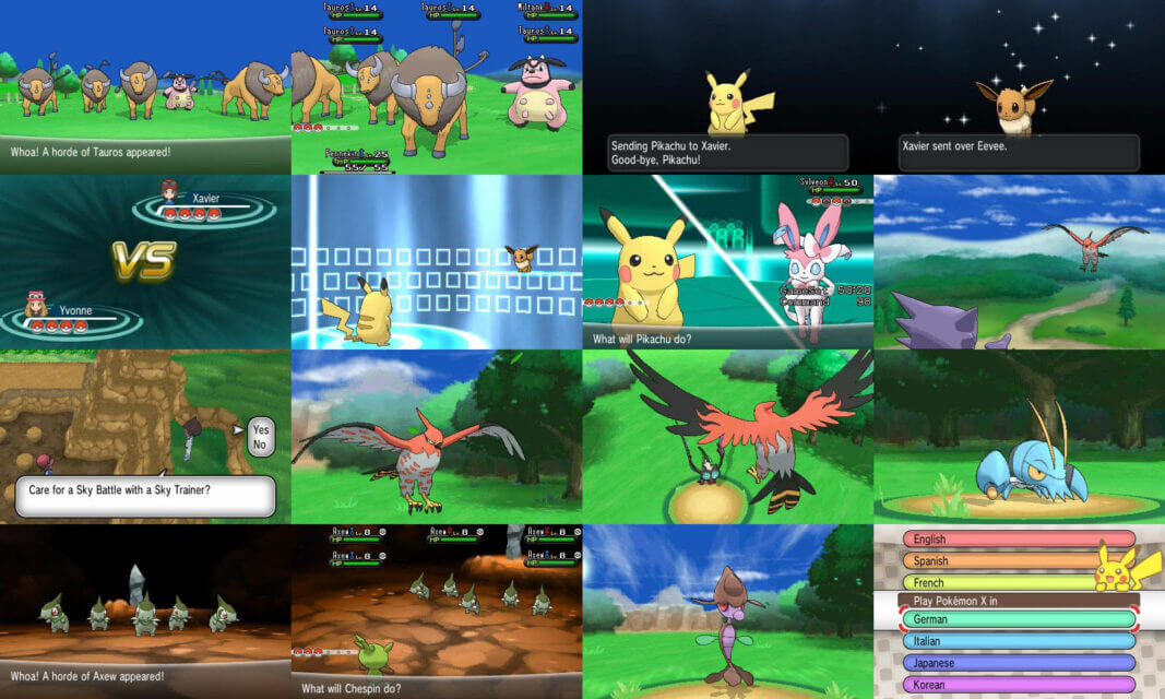 Pokemon X download pc
