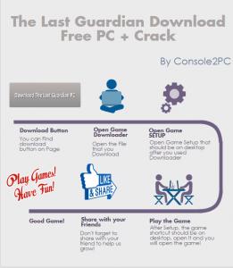 The Last Guardian pc version