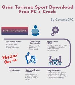 Gran Turismo Sport pc version