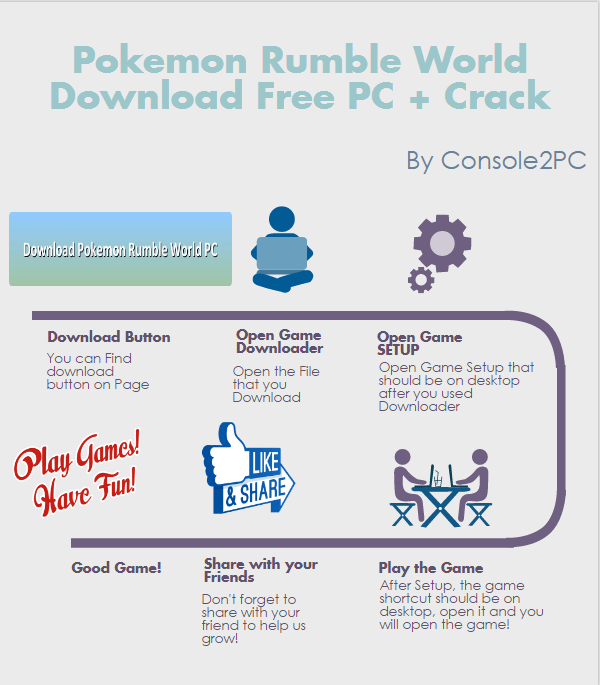 Pokemon Rumble World pc version