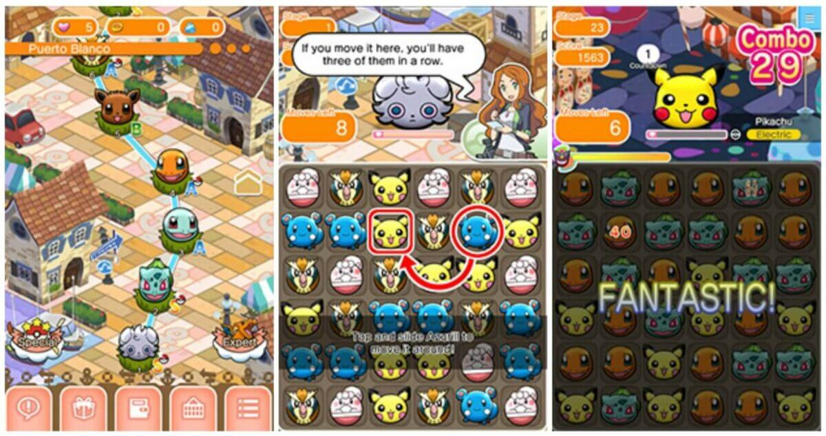 Pokemon Shuffle download pc