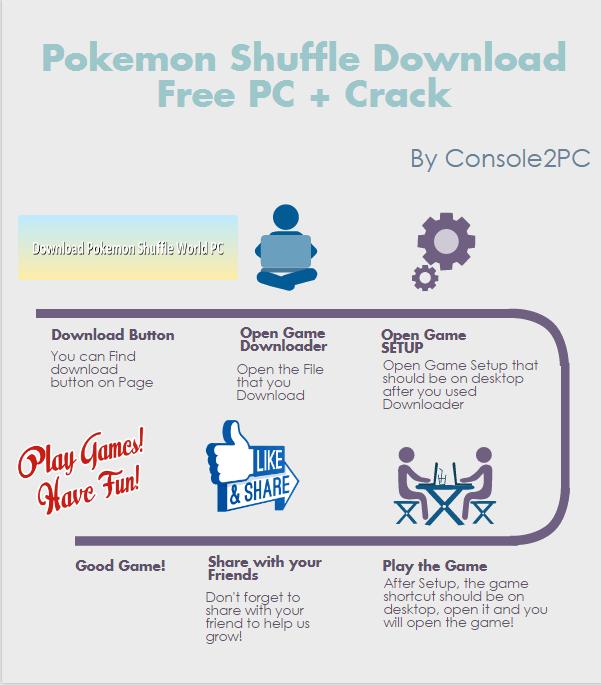 Pokemon Shuffle pc version