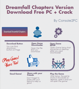 Dreamfall Chapters pc version