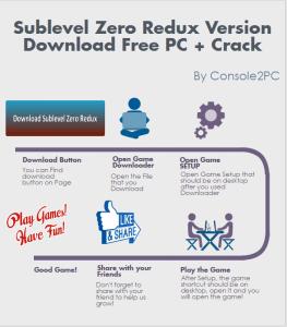 Sublevel Zero Redux Version pc version