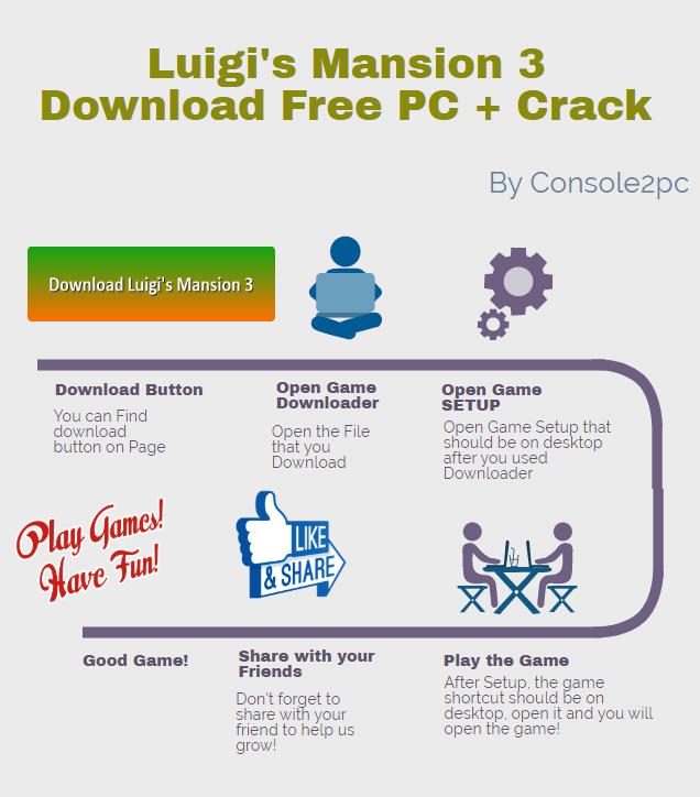Luigi's Mansion 3 pc version