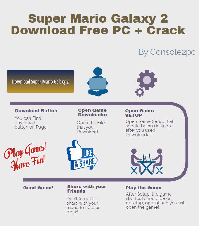 Super Mario Galaxy 2 pc version