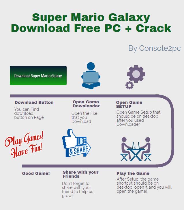 Super Mario Galaxy pc verison