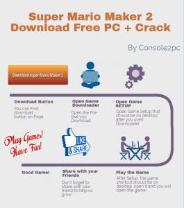 Super Mario Maker 2 pc version