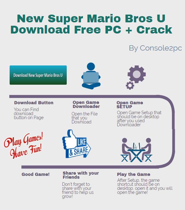 New Super Mario Bros U pc version