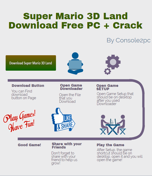 Super Mario 3D Land pc version