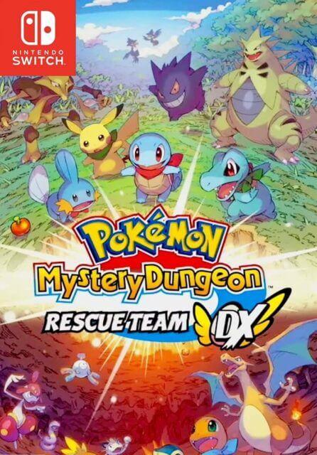 Pokémon Mystery Dungeon Rescue Team DX PC Download Free