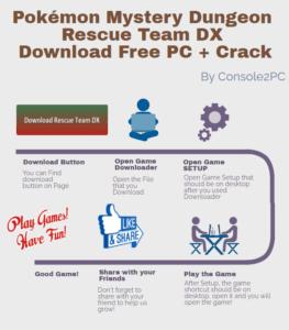 Pokémon Mystery Dungeon Rescue Team DX pc version