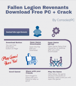 Fallen Legion Revenants pc version