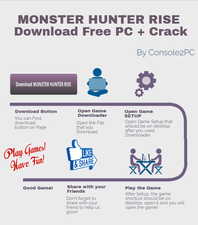 MONSTER HUNTER RISE pc version