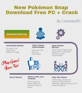 New Pokémon Snap pc version