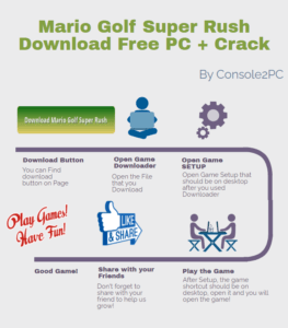 Mario Golf Super Rush pc version
