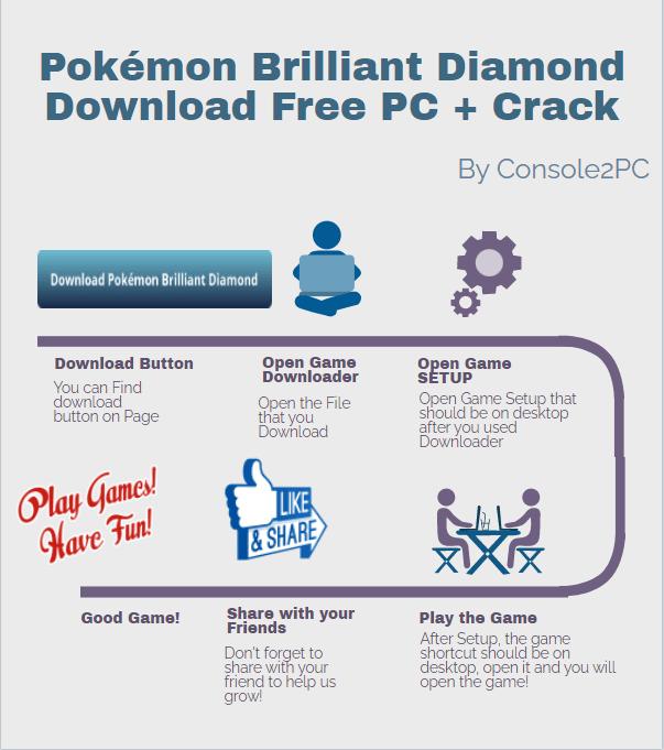 Pokémon Brilliant Diamond pc version